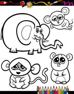 Mysz i słonik