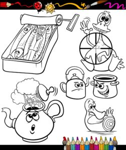Konserwa, czajnik i garnki