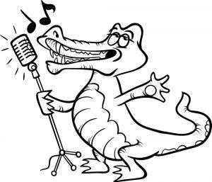 Śpiewający krokodyl