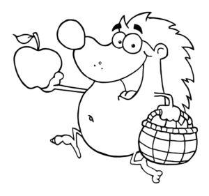 Jeż i jabłuszko