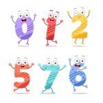 Kolorowanki liczby