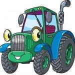 Kolorowanki traktory