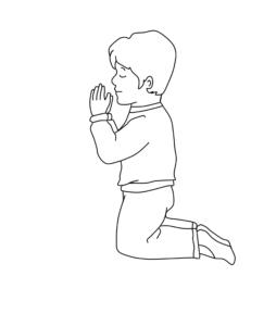 Dziecko i pacierz
