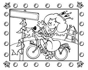 Księżniczka na rowerze