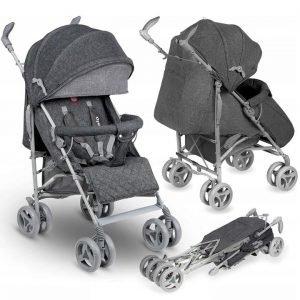 Lionelo irma grey lekki wózek spacerowy + folia