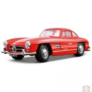 Bburago 1:18 mercedes-benz 300 sl 1954 red 0475 nn