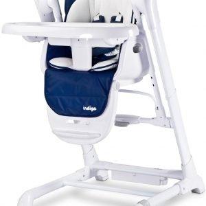 Caretero indigo navy huśtawka krzesełko 2w1 + puzzle