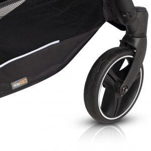 Easygo domino cosmic blue wózek spacerowy bliźniaczy + torba dla mamy gratis