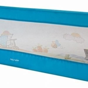 Barierka ochronna do łóżka – bramka bed rail – kolor niebieski