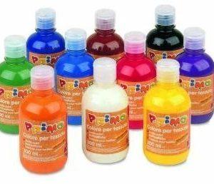 Farby tekstylne w butelkach 300 ml