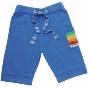 Tęczowe spodnie niebieskie rainbow trousers blue