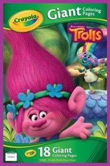 Gigantyczna kolorowanka trolle