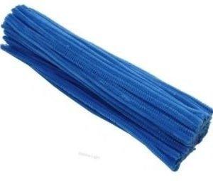 Druciki kreatywne niebieskie 30cm 24szt