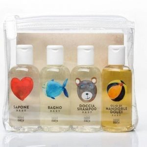 Linea mammababy zestaw kosmetyków mammababy 4 x 100ml (mydło, płyn do kąpieli, szampon, olejek)