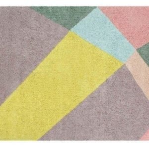 Dywan bawełniany do prania w pralce happy prism, lorena canals 140 x 200 cm