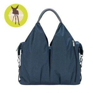 Lassig green label torba z akcesoriami neckline spin dye blue melange