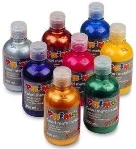 Farby metalizujące w butelce 300 ml.