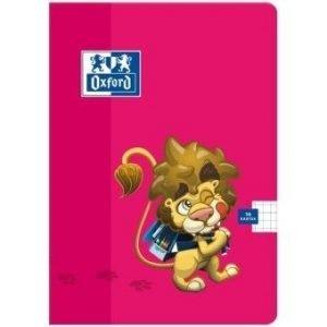 Zeszyt a5 16 k. 3-linie kolorowe lion, oxf
