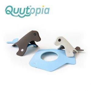 Quut zestaw puzzli piankowych 3d quutopia foki