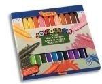 Kredki świecowe 24 kolory