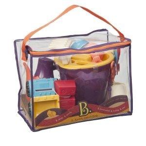 B.toys zestaw akcesoriów plażowych dla dzieci – pomarańczowy