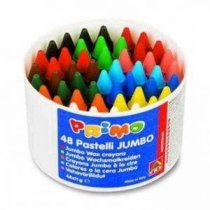 Kredki woskowe jumbo – 48 sztuk – 12 kolorów