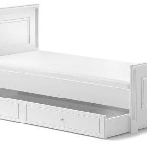 Bellamy ines elegant white 90×200 z szufladą