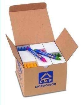 Kredki woskowe maxi 12kol.po 12szt.10,5x100mm w kartonowym pudełku.
