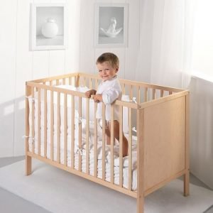Łóżeczko dziecięce eco panel 120×60 troll nursery (k. naturalny)