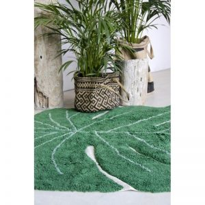 Dywan do prania w pralce monstera leaf, lorena canals 120 x 160 cm