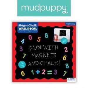 Mudpuppy naklejka magnetyczna – tablica kredowa 123