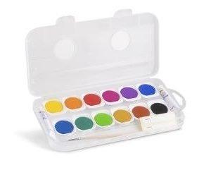 Farby wodne gwasz 12 kolorów