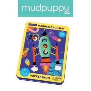Magnetyczne konstrukcje rakiety kosmiczne 4+, mudpuppy