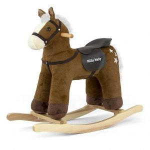 Koń na biegunach pepe dark brown, milly mally