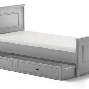 Bellamy ines natural grey łóżko 90×200 z szufladą