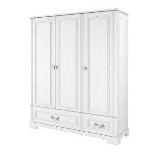 Bellamy ines biała – szafa 3 drzwiowa
