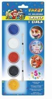 Farby do twarzy 5-kol