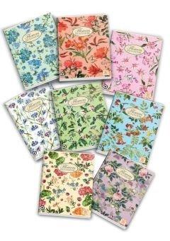 Zeszyt a5 58 kartek nature flowers