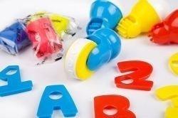 Masa plastyczna – alfabet