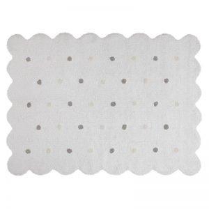 Dywan bawełniany do prania w pralce galleta blanco/white, lorena canals 120 x 160 cm