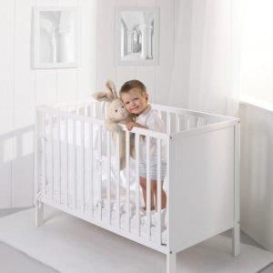 Łóżeczko dziecięce eco panel 120×60 troll nursery (k. biały)