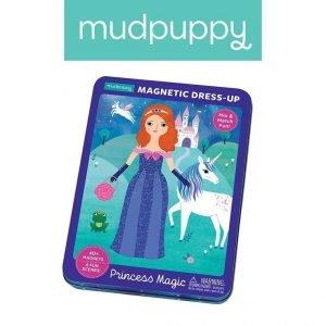 Mudpuppy magnetyczne postacie księżniczki 4+