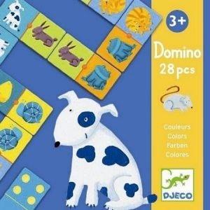 Gra domino – zwierzęta 28 elem.