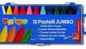 Kredki woskowe jumbo 12 kolorów