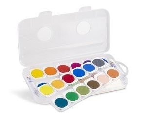 Farby wodne gwasz 24 kolory