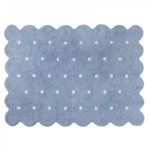 Dywan bawełniany do prania w pralce galleta azul/blue, lorena canals 120 x 160 cm