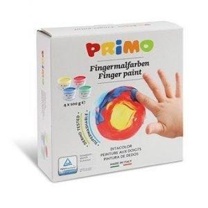 Farby do malowania palcami 4x100g