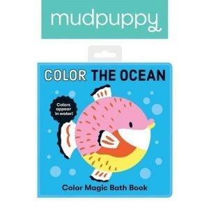 Mudpuppy magiczna książeczka do kąpieli kolory oceanu