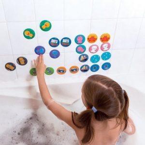 Gra memory do kąpieli zwierzątka 24 elementy 2+, janod