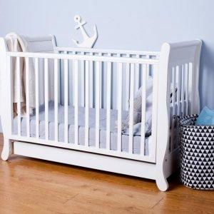 Łóżeczko dziecięce romantica 120×60 troll nursery (k. biały)